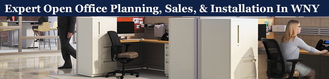 Open Office Furniture Sales & Installation, Buffalo, NY & WNY