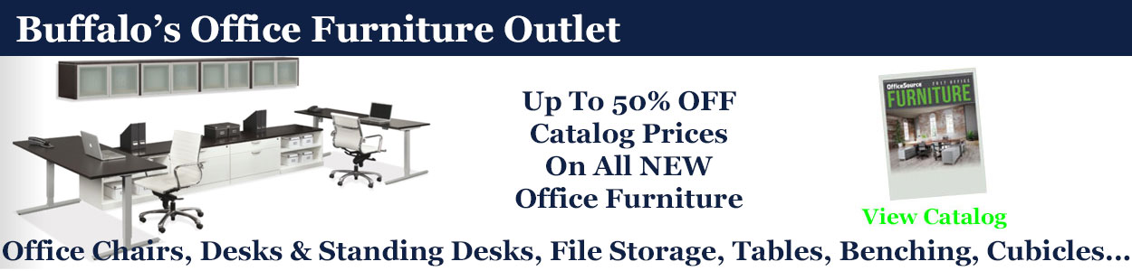 Discount NEW Office Furniture Sales & Installation, Buffalo, NY & WNY