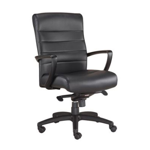 <br><b>New Eurotech Manchester Mid Back Chair</b><br>LE255-BLKL, $280