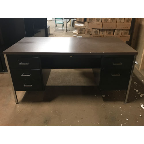 <br><b>Used Steel Desk</b><br><br>$300