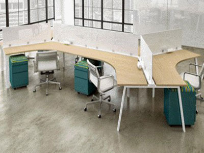 Custom Office Benching Model 5, Buffalo, NY & WNY